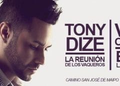 Tony Dize en Chile – World Tour 2018-2019