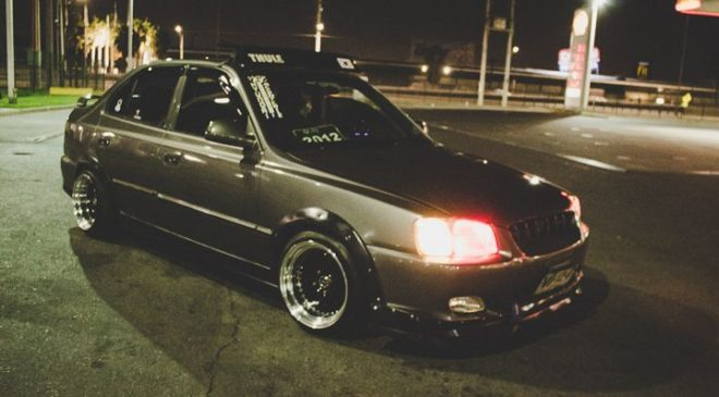 night hyundai accent